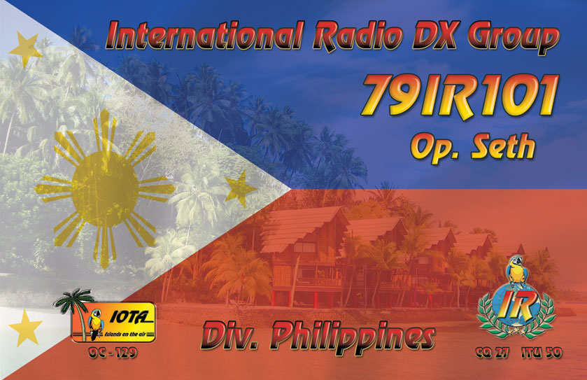 79IR101 front QSL