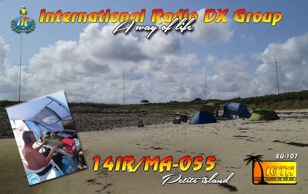 14IR/MA-055 Petite island IOTA ref. EU-107