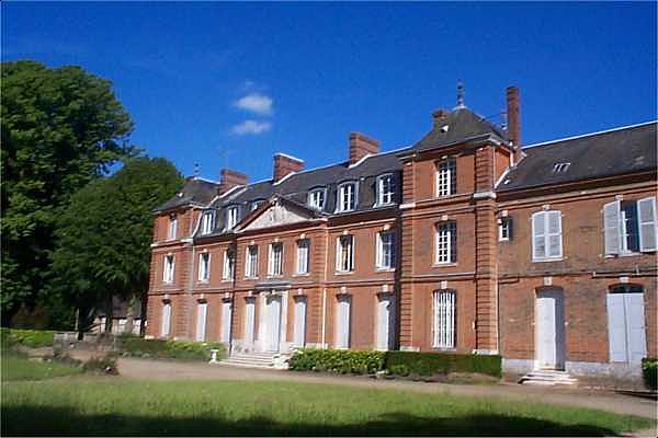 14IR/CP Castle of Le Parquet department Seine Maritime